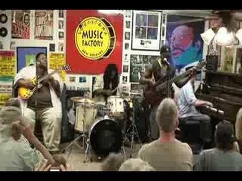Jon Cleary @ Louisiana Music Factory JazzFest 2008