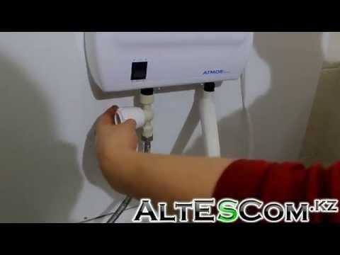 Видеообзор: Электрический водонагреватель ATMOR Basic