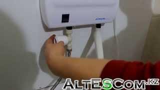видео водонагреватель электрический