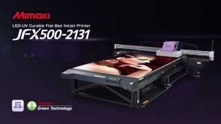 Mimaki JFX500 UV LED Flatbed Printer - All Graphic Supplies