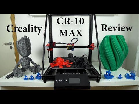 Creality CR-10 Max 3D Printer Review - All You Need To Know
