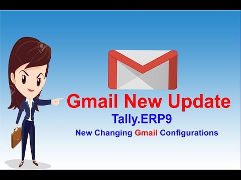 Send Email Invoice In Tally ERP 9 | PDF Tally Mail Configuration Setting |