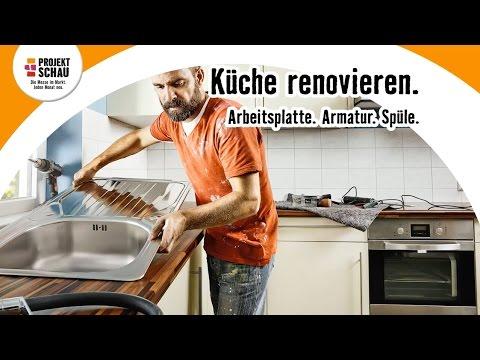 HORNBACH Projektschau Januar 2016 - Küche renovieren - YouTube