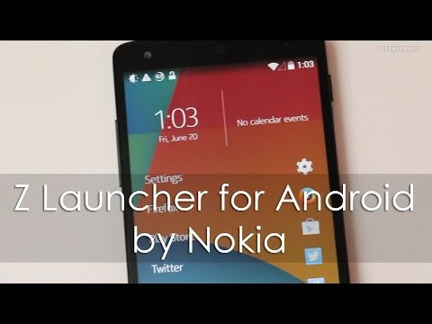 Nokia Z Launcher - Custom Launcher for Android Phones