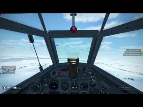 IL2 BOS - Me 110 Bombing Run Wings of Liberty