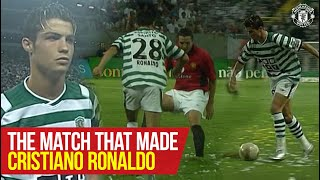 The Match That Made Cristiano Ronaldo | On This Day | Sporting CP v Manchester United (2003)