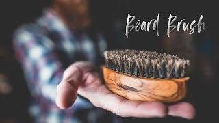 How to Make a Beard Brush | GIACO