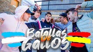 BATALLA DE RAP DE YOUTUBERS **España Vs Argentina** (MUY SALSEANTE) con Robleis y PedritoVM [Salva]