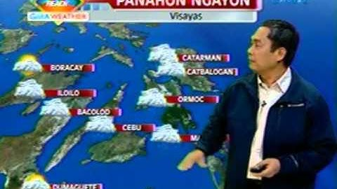 UB: Weather update as of 7:00 a.m. (December 19, 2012)