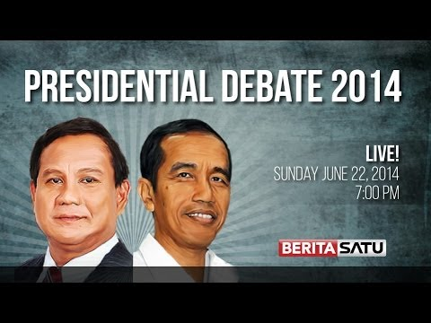 Indonesia Presidential Debate 3: Domestic Affairs & National Security (in English)