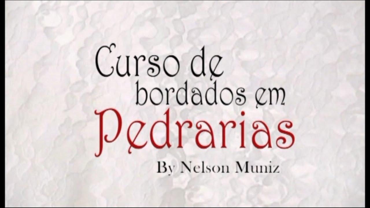 3a94493fa8 INTRO | CURSO DE BORDADO EM PEDRARIAS - YouTube