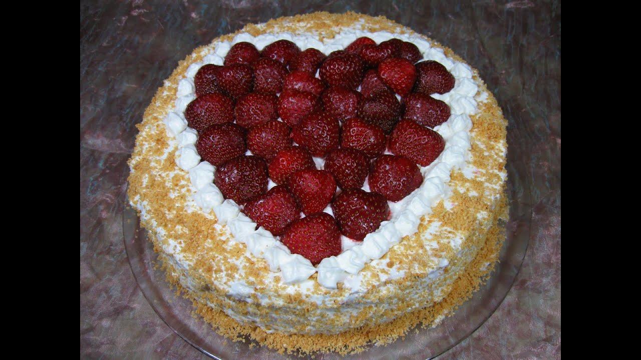 Вкусный фруктовый торт рецепт с фото