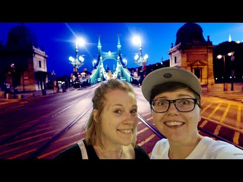 Exploring BUDAPEST In The Day & At Night Tour | Budapest, Hungary Travel Vlog