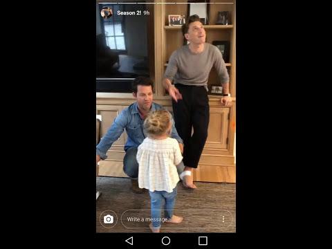 nate berkus jeremiah brent latest family video season 2 announcement daughter poppy problem. Black Bedroom Furniture Sets. Home Design Ideas