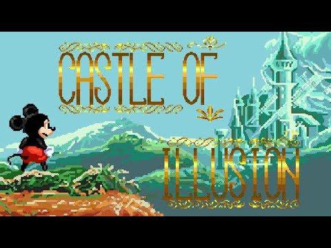 [Rus] Castle Of Illusion - Прохождение (Sega Genesis) [1080p60][EPX+]
