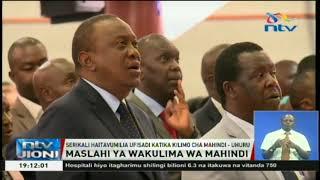 Rais Kenyatta: Serikali haitavumilia ufisadi katika kilimo cha mahindi