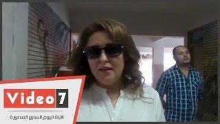 نهال عنبر:شاركت فى الانتخابات رغم مرضى لأن مصر أهم ومحتاجة لينا كلنا