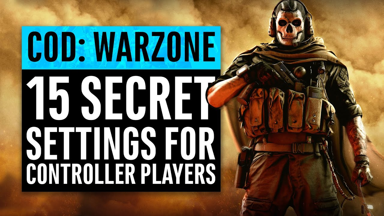 Warzone | 15 Secret Settings for Controller Players (PS4 & Xbox One) | Call of Duty Modern Warfa