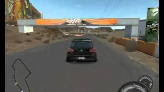 NFS Pro Street gameplay low settings