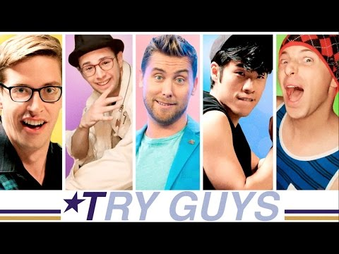 Thumbnail: The Try Guys 90s Boyband Music Video Challenge