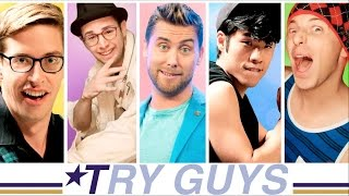 LANCE BASS! The Try Guys team up with NSYNC's Lance Bass to challen...