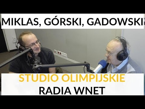 Miklas, Robert Górski, Gadowski - Studio olimpijskie Radia WNET #4