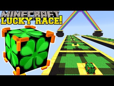 Minecraft: INSANE IRISH LUCKY BLOCK RACE - Lucky Block Mod - Modded Mini-Game thumbnail