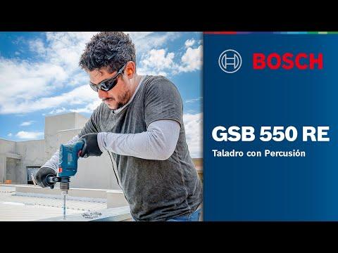 Taladro con Percusión GSB 550 RE
