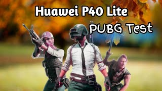 huawei P40 Lite Pubg Test Fantastic Performance