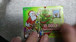 Rubbellos Adventskalender von West Lotto 2019