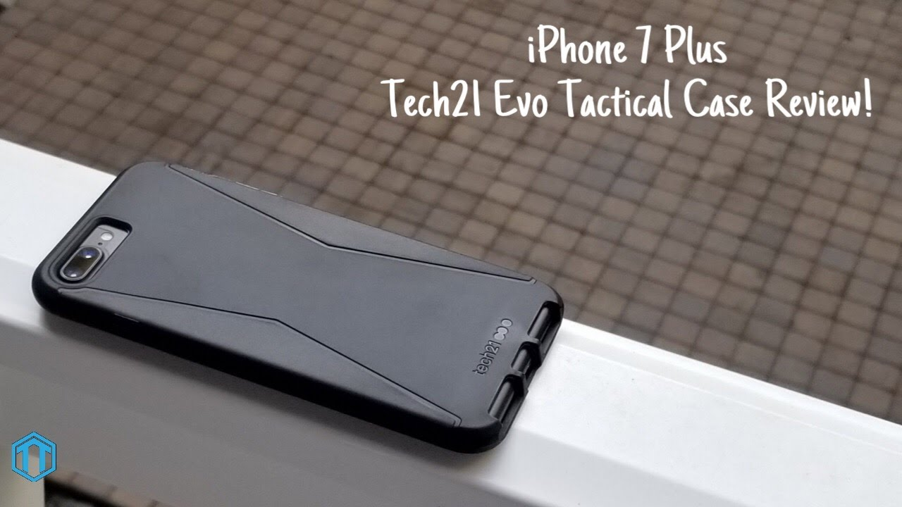 sports shoes bf0b1 f6bd4 iPhone 7 Plus Tech21 Evo Tactical Case Review!