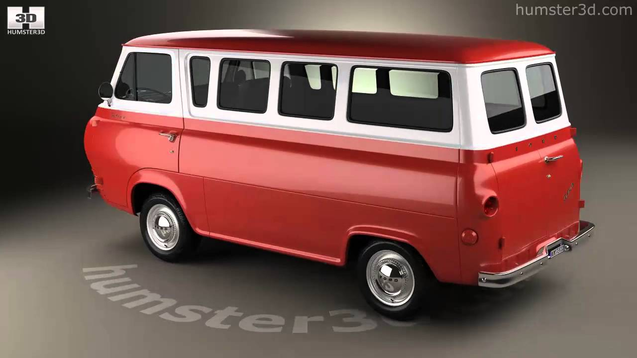 Ford e series falcon club wagon 1963 3d model by humster3d com