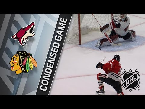 Arizona Coyotes vs Chicago Blackhawks – Dec. 10, 2017 | Game Highlights | NHL 2017/18. Обзор матча