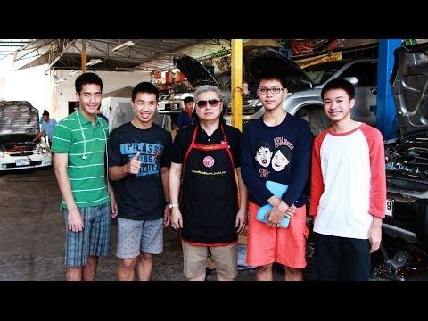 แฟรงค์นอกกะลา - งานช่างยนต์ - nOrthGP Honda Chiang Mai