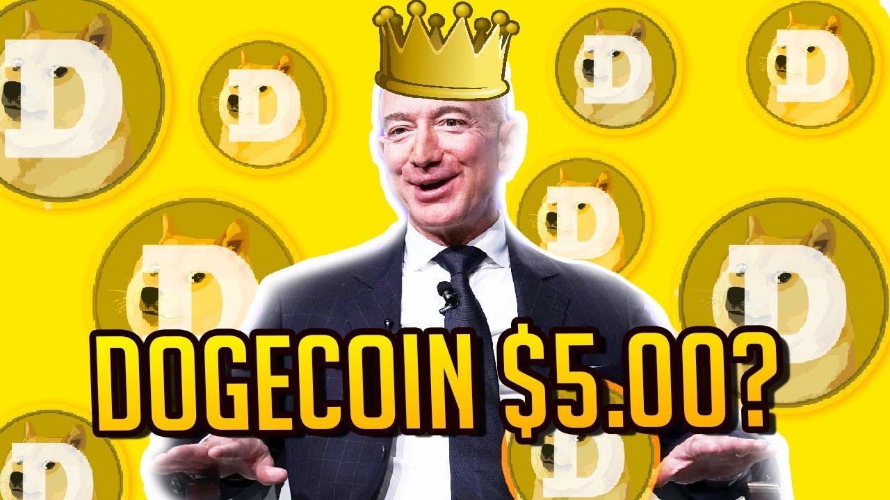 Dogecoin Price $5 with Amazon Partnership? Jeff Bezos ...