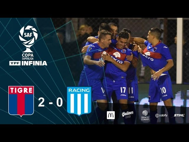 #CopaSuperliga: resumen de Tigre - Racing