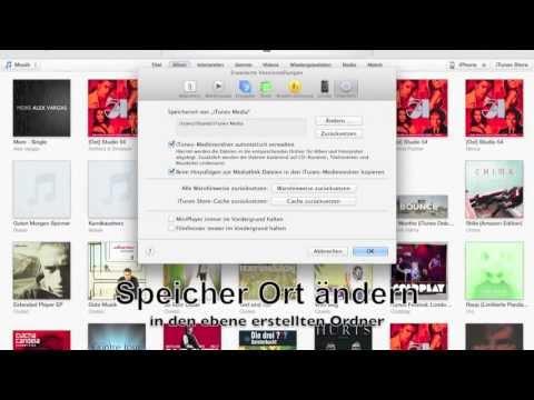 Eine iTunes Mediathek mit mehreren Benutzer Accounts nutzen