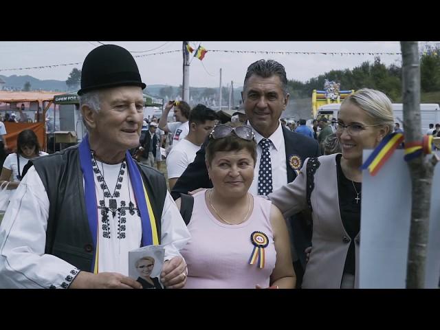 Ramona Ioana Bruynseels - Vizită Țebea, Hunedoara