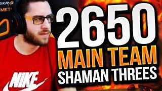 2650 Main Team Resto Shaman Games! Cdew 7.2.5 Legion Arena Gameplay