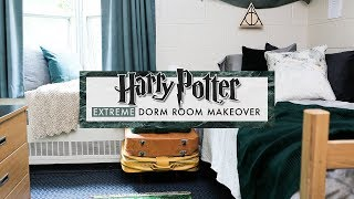 a HARRY POTTER dorm room?!