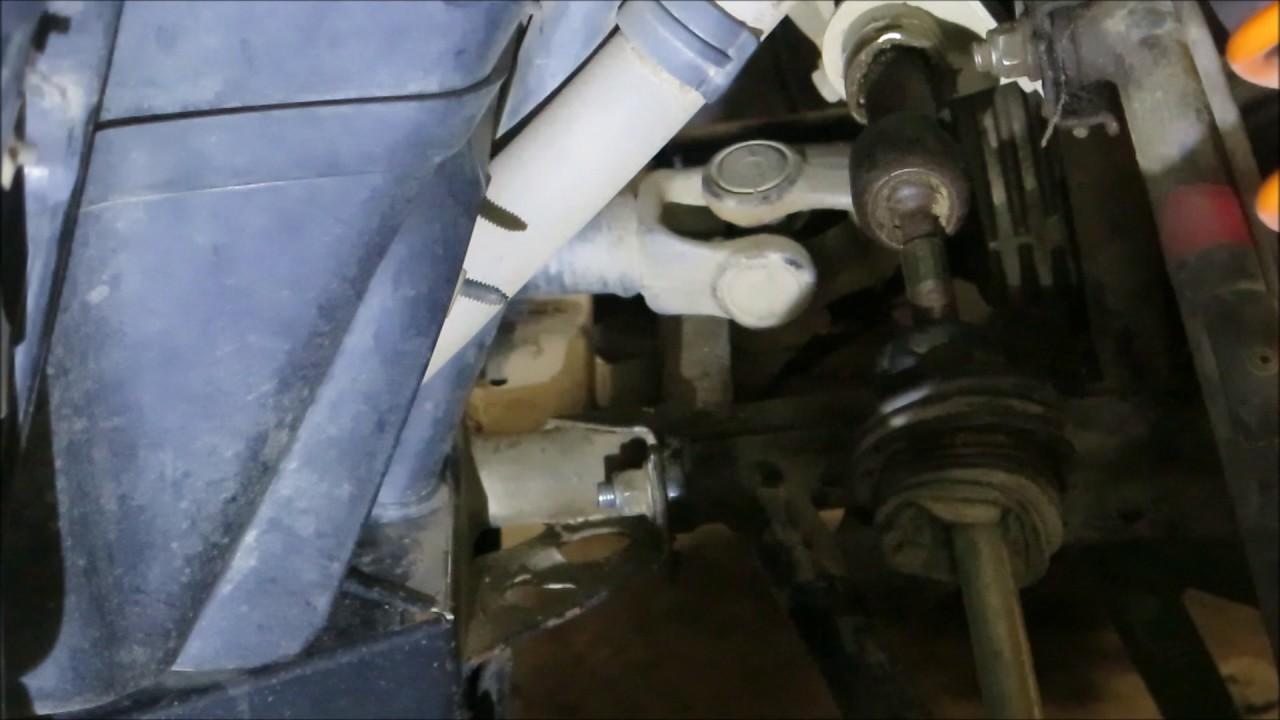 maxresdefault polaris rzr steering rack bad youtube