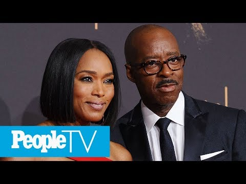 Angela Bassett On How She Met Husband Courtney B. Vance & Their 'Passionate' Marriage   PeopleTV