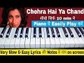 Keyboard & Piano Tutorial - Chehra Hai Ya Chand Khila Hai || saagar || musical boyss Whatsapp Status Video Download Free