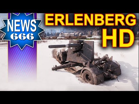Erlenberg - pierwsza zimowa mapa HD - NEWS - World of Tanks thumbnail