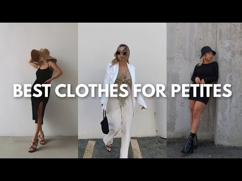 BEST CLOTHES FOR PETITES | Most Flattering Clothes for Girls 5ft and Under - YouTube