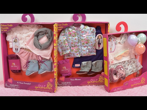 Our Generation Haul ~ Dressing Up American Girl Dolls