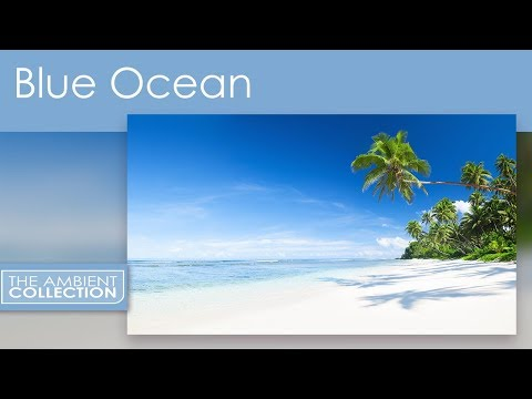 Blue Ocean DVD - Relax With 30 Minutes Beach With Ocean Sounds