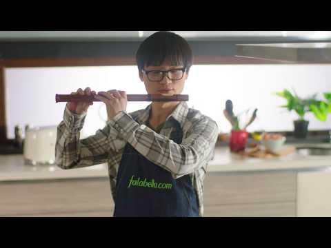¡Falabella y Yuhui nos muestran todo para hacer comida saludable!