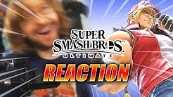 MAX REACTS: Terry Bogard Is In Smash Ultimate