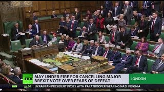 Fearing for her future - The British Prime Minister has cancelled a...